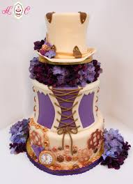 latest steampunk wedding cakes steampunk wedding cake in ivory