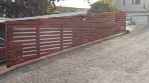 fresh free horizontal wood fence 16456