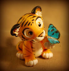 tiger and butterfly by melinaminotti on deviantart