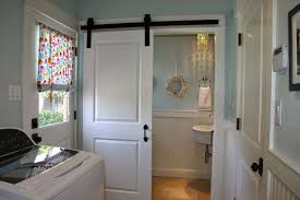 Home Is Where The Heart Is Laundry  Powder Room Combo Bathroom - Powder room bathroom