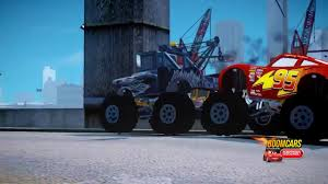 lightning mcqueen monster truck videos pink spiderman monster trucks lightning mcqueen mater disney cars