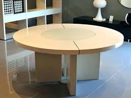 round table with lazy susan built in table with lazy susan built in tingz me