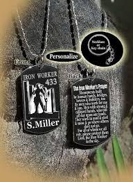 graduation dog tags iron worker s prayer apprenticeship graduation dog tag