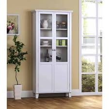 poppy display cabinet with glass door walmart com