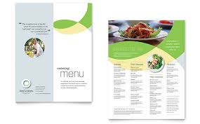 menu publisher template menu templates indesign illustrator publisher word pages