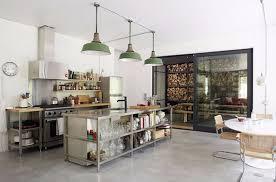 cuisine industrielle inox quel intérieur pour ma cuisine industrielle