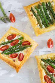 boursin cuisine light puff pastry bites with boursin and asparagus s kitchen