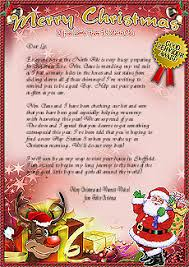 letters from santa claus letters from santa claus send a magical letter from santa