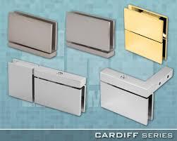 crl arch cardiff series frameless shower door hardware