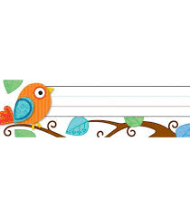 Student Desk Plates by Boho Birds Nameplates Grade Pk 5 Carson Dellosa Publishing