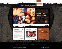 dj soundwaves bootstrap 3 template gridgum