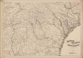 Map South Carolina Coast Exceptional Map Of Georgia And South Carolina Prepared For The
