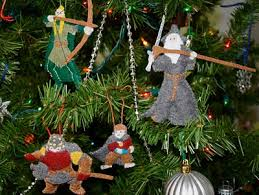 the most amazing set of lord of the rings ornaments random