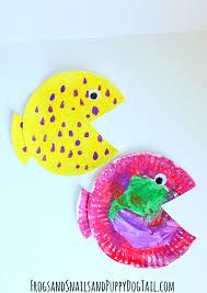 fish paper plate craft fspdt