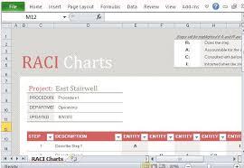 raci chart example xls