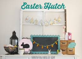 easter mantel decorations my almost easter mantel or the rustic easter decor on my hutch