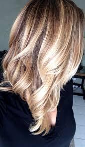 Frisuren Blond by Balayage Technik Natürliche Highlights Und Toller Look