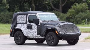 grey jeep wrangler 2 door 2018 jeep wrangler two door caught on road testing