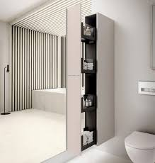 Bathroom Vanity Pull Out Shelves by Geberit Acanto 173cm Tall Cabinet With Pull Out Storage Uk Bathrooms