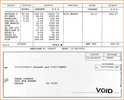 Pay Stub Template Excel 3 How To A Check Stub Teknoswitch