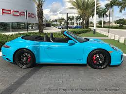 porsche convertible 4 seater 2017 new porsche 911 carrera gts cabriolet at porsche west broward