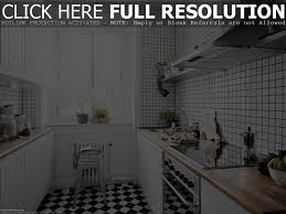 black and white kitchen tiles floor with classic on loversiq