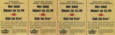 Hometown Buffet Coupons Printable by Free Coupons Online August 2009