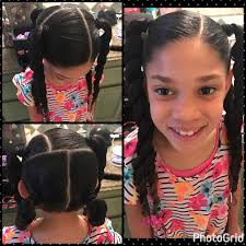 Little Girls Ponytail Hairstyles by Little Hairstyles Mixed Girls Little Ponytails Haleys