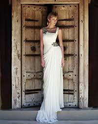 grecian style wedding dresses getting married on skopelos in a grecian wedding gown
