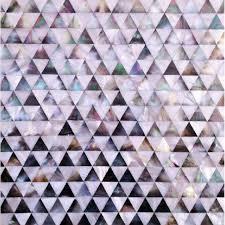 Seamless Shell Tile Backsplash Pyramid Patterns Triangle Seashell - Seashell backsplash