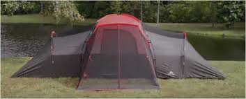 ozark trail 10 person tent with screen porch 21x15 extended dome