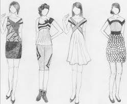 50 best fashion sketches images on pinterest draw fashion