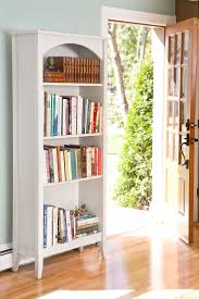 Arched Bookcase Photos Hgtv Gray And White Fireplace With Built In Shelves Loversiq