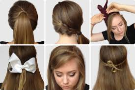 How To Make Hairstyles For Girls by Step By Step Photos Of Elegant Bow Hairstyles Hairzstyle Com