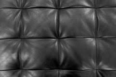 Black Upholstery Leather Black Sofa Upholstery Leather Pattern Background Stock Images