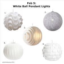white dome pendant light fab 5 white ball pendant lights lofty ambitions blog at lofty