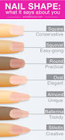 the 25 best acrylic nail shapes ideas on pinterest nails shape