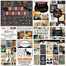 1000 free halloween printables spray paint and bandaids