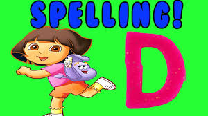 alphabet letter learning learn the letter d with dora the