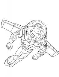 disney toy story character buzz lightyear coloring pages