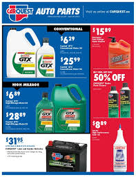 carquest auto parts retail flyer canada february 26 to april 29 20 u2026