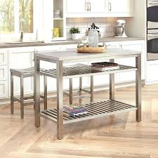 stainless steel kitchen island with butcher block top stainless steel kitchen islands snaphaven