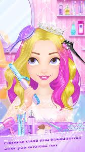 salon games hair fashion s makeup dressup and makeover games screenshot 4
