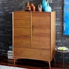 West Elm Bedroom Furniture by Mid Century Wardrobe Acorn West Elm Mid Century Elegance