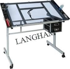 Drafting Table Glass Glass Drafting Table Drafting Table Drawing Table With Glass