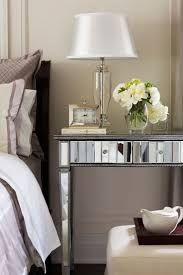 Mirrored Night Stands 100 Best Mirrored Furniture Images On Pinterest Home Mirrors
