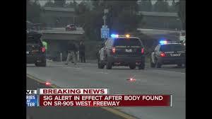 Sigalert San Diego Map by Pedestrian Struck Killed By Vehicle On Sr 905 10news Com Kgtv