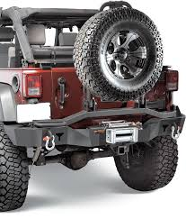 jeep rear bumper olympic 4x4 products rear smuggler winch bumper with dual pivot