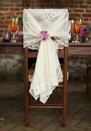lace chair covers alternative stylish wedding chair ideas inspirations