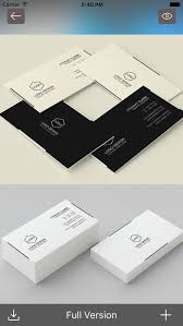 business card design ideas visiting cards designs on the app store